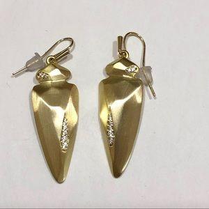 Kendra Scott Gold Stephanie Earrings